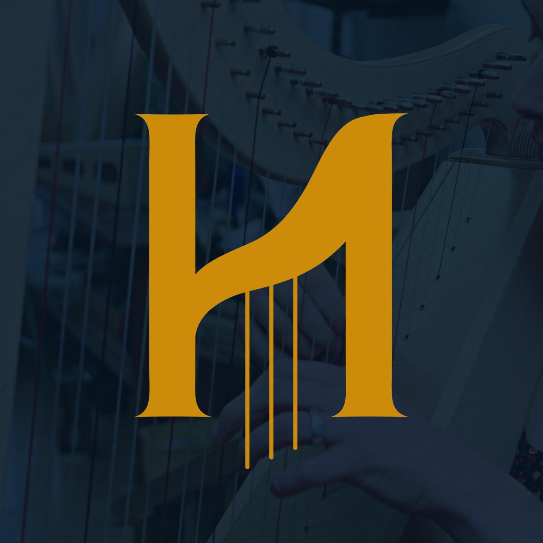 Hands On Harps Logo